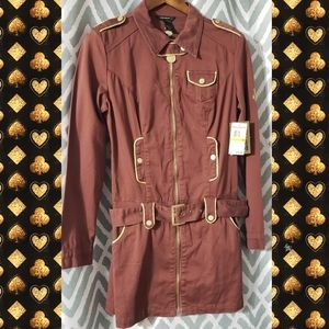 Medium Rocawear steampunk military dress jacket